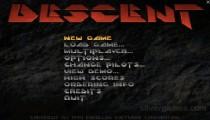 Descent: Menu