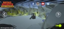 Destroyer Crash Simulator: Menu