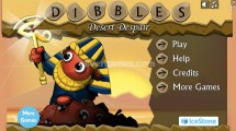 Dibbles 3: Desert Despair: Menu