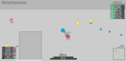 Diep.io: Screenshot