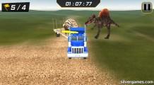 Dino Transport Truck: Gameplay