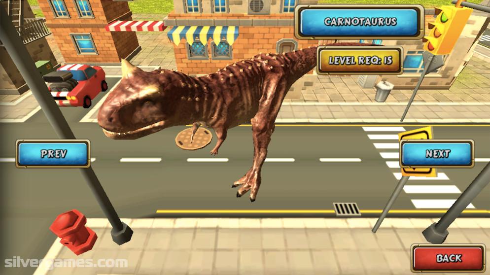 Dino walk simulator download