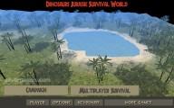 Dinosaur Survival Simulator: Menu