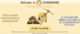 Dogeminer: Menu