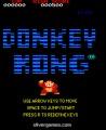 Free Donkey Kong: Menu