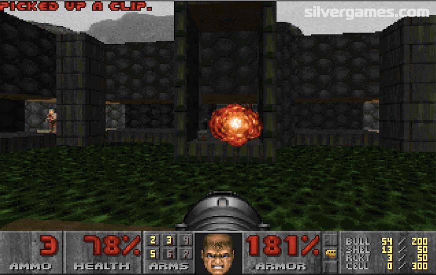 Doom 1 Play Doom 1 Online On Silvergames
