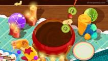 Dr.Panda Restaurant: Chocolate Fondue