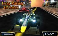 Drag Racing 3D: Menu
