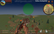 Dragon Simulator 3D: Gameplay Dragon Flying