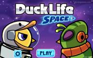 Duck Life 6: Weltraum: Menu