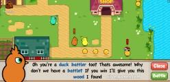 Duck Life: Battle: Gameplay