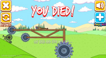 Dumb Riders: Game Over Bicycle Stunt