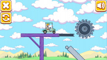 Dumb Riders: Golfcart Stunt