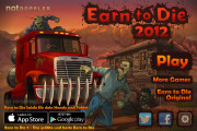 Earn To Die 2012: Menu