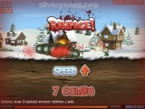 Effing Worms Xmas: Gameplay Worm Christmas