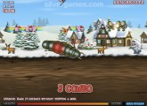 Effing Worms Xmas: Winter Gameplay Worm