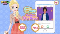 Elsa Online Dating: Menu