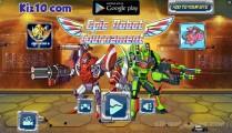 Epic Robot Tournament: Menu