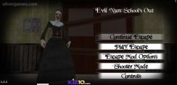 Evil Nun Schools Out: Menu