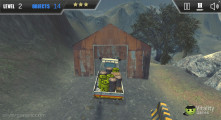 Extreme Offroad Cars 3: Cargo: Delivering Cargo Shed