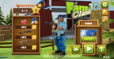 Farm Clash 3D: Menu