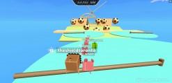 FarmRun.io: Gameplay Hurdle Race