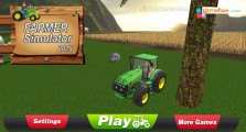 Farmer Simulator: Menu