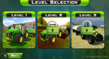 Farmer Simulator: Level Selection