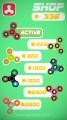 Fidget Spinner Master: Gameplay Widget