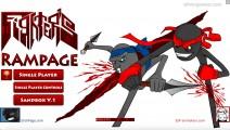 Fighters Rampage: Menu