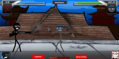 Fighters Rampage: Gameplay Samurai Fighters