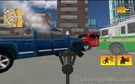 Fire Truck Simulator: Distinguishing Fire
