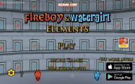 Fireboy And Watergirl 5: Menu