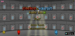 Fireboy And Watergirl 6: Fairy Tales: Menu