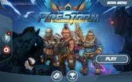 FireStorm: Menu