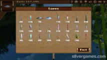 Fishing Simulator: Lures Fish Gameplay