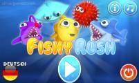 Fishy Rush: Menu