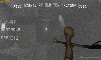 Five Nights At Old Toy Factory: Menu