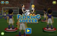 Flicking Soccer: Menu