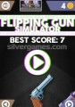 Flipping Gun Simulator: Menu