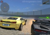 Fly Cars Shooting: Gameplay Cars Racing
