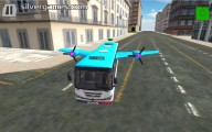Flying Bus Simulator: Bus Driver