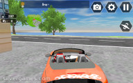 Flying Car Extreme Simulator: Driving Fancy Car