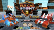 Flying Car Stunt 2: Racing Game