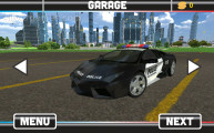 Flying Police Car Simulator: Car Selection