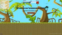 FlyOrDie.io: Eaten Alive Tyrannosaurus Dinosaure
