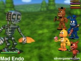 Fnaf World: Gameplay