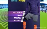 Football Storm Strike: Menu