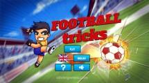 Football Tricks: Menu