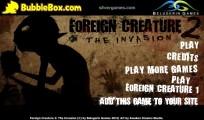 Foreign Creature 2: Menu
